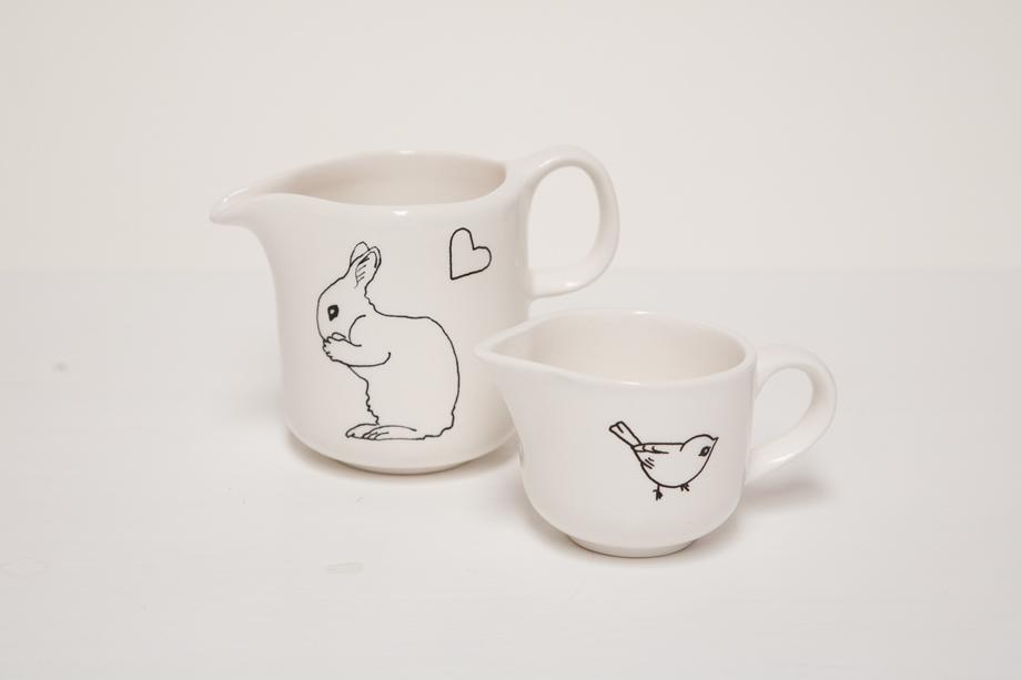 Ceramic Milk Jugs