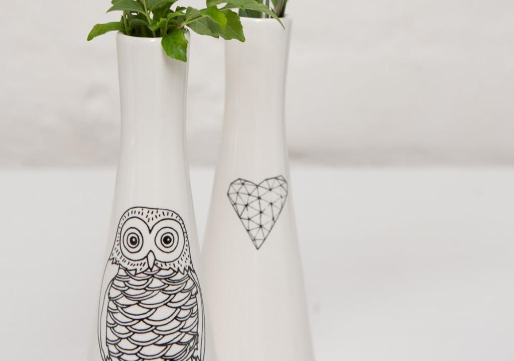 Cute and local Cape Town Ceramic Vases