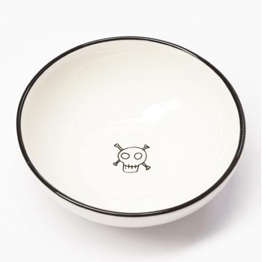 small skull bowl