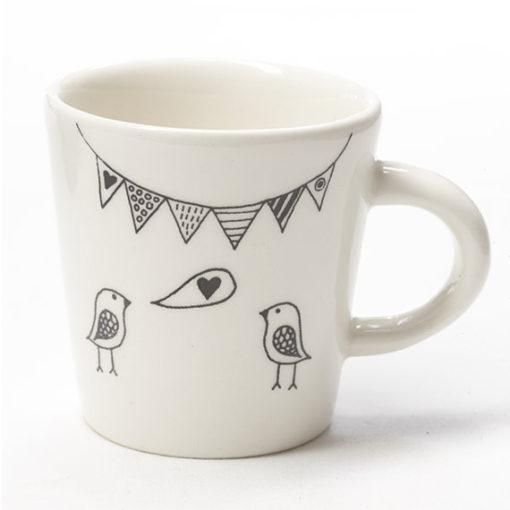 Birds Ceramic cup