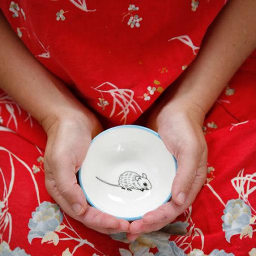 Ceramic Bowl - Frances from Flick Inc