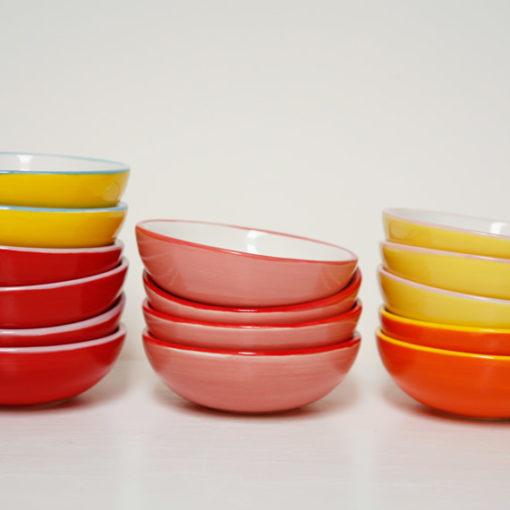 small ceramic bowls