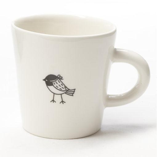 Ceramic Coffee Cup - Bandit Birdy