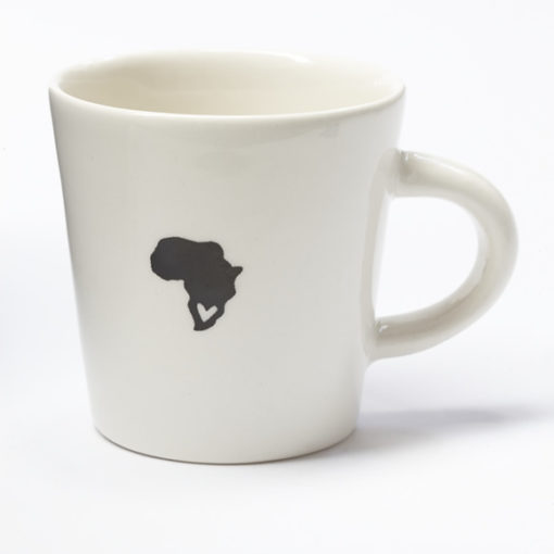 Ceramic Coffee Cup - South Africa Love