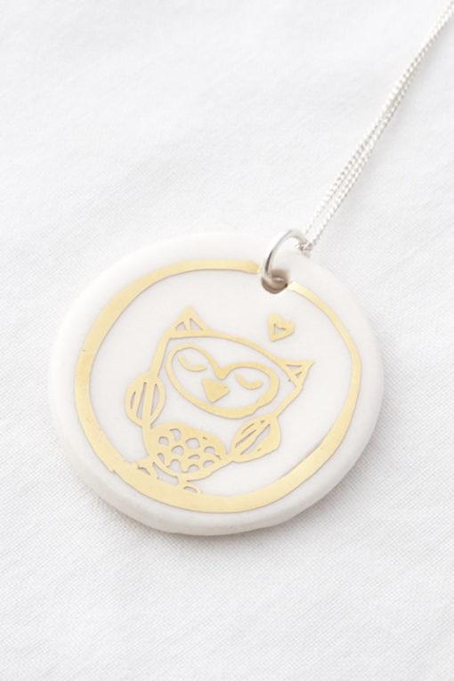 Owl's Pendant
