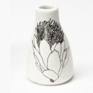 Short Vase - Protea Bloom