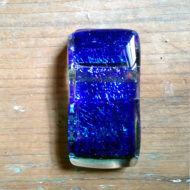 dichroic glass pendant by flickglass - Deep Ocean