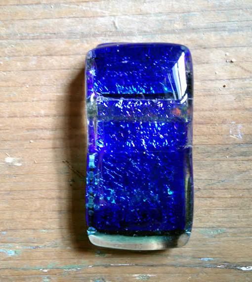dichroic glass pendant by flickglass - Deep Ocean
