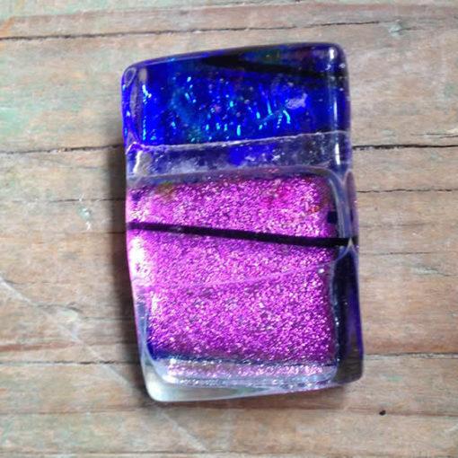 dichroic glass pendant - Elixir