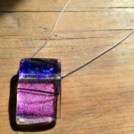 glass pendant - Elixir