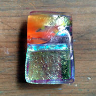dichroic glass pendant by flickglass - Ephemeral