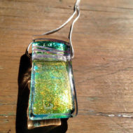 glass pendant - Erstwhile