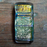 dichroic glass pendant by flickglass - Fetching