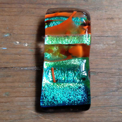 dichroic glass pendant by flickglass - Primordial