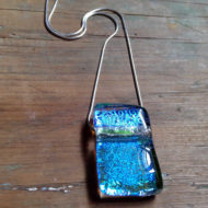 dichroic glass pendant - Sempiternal
