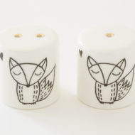 Salt and Pepper Shakers - Cute Fox