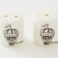 Salt and Pepper Shakers - Hot-Air Balloon