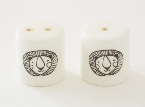Salt and Pepper Shakers - Lion