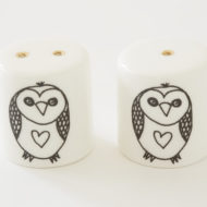 Salt and Pepper Shakers - Owl