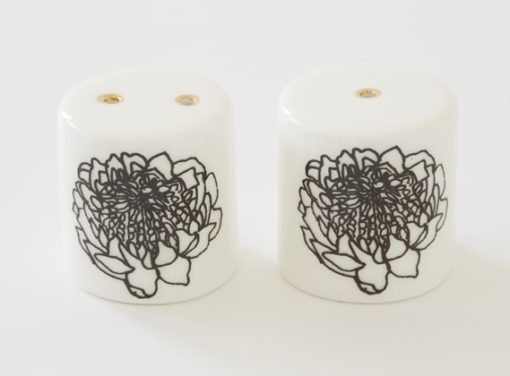 Salt and Pepper Shakers - Protea Bud
