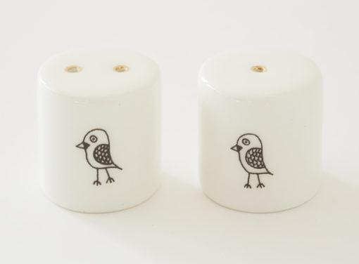 Little Birdy Ceramic Salt and Pepper Shakers