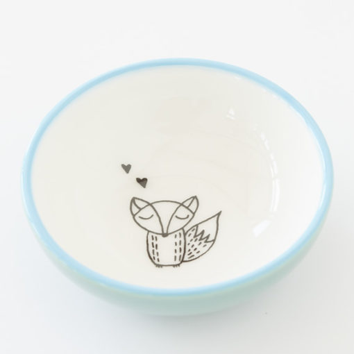 Small Ceramic Bowl - Fox