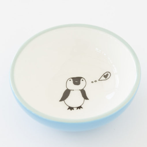 Small Ceramic Bowl - Little Penguin