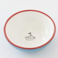 Small Ceramic Bowl - Paper Boat