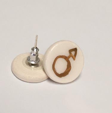 Porcelain Earrings – New Male