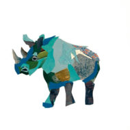 zoe mafham - Rhino Collage