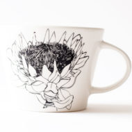 King Protea Ceramic Cup