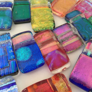 Dichroic Glass Pendants - Flick Glass (Flick Inc.)